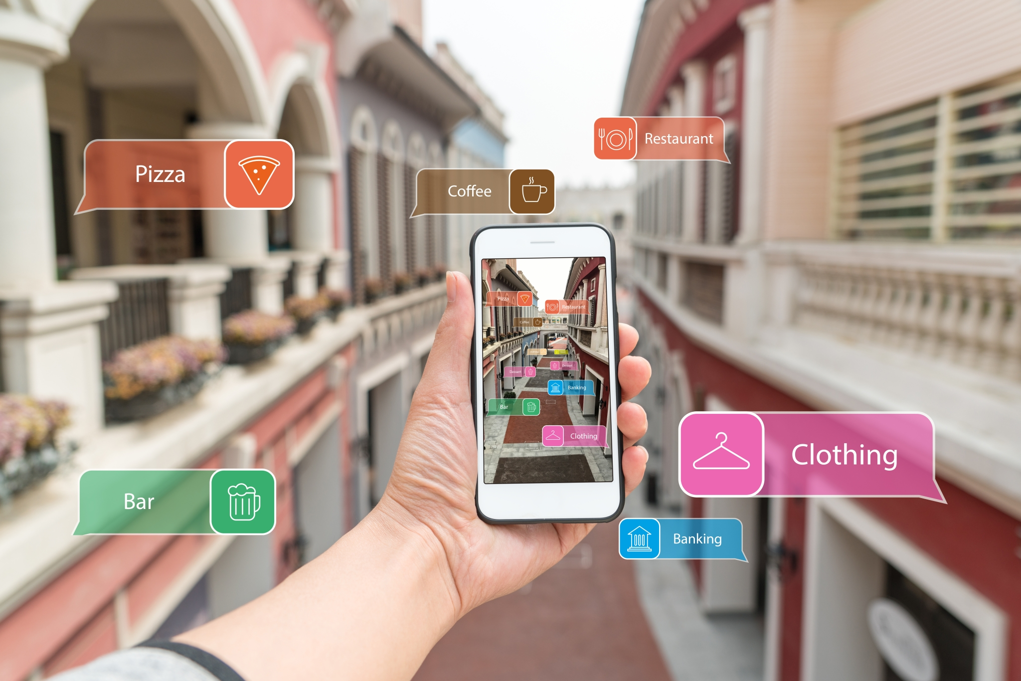 Introducing augmented reality for e-commerce
