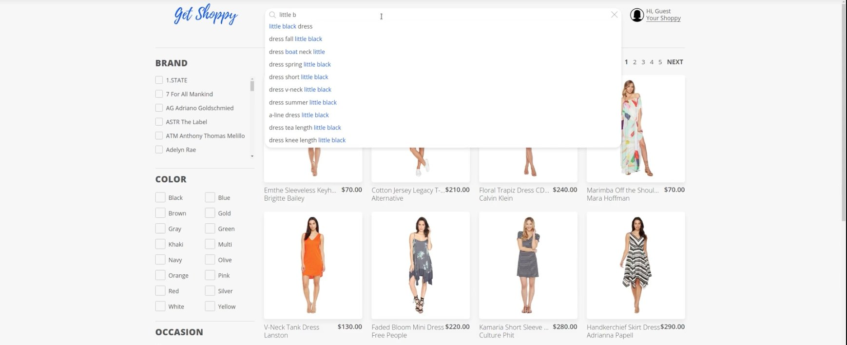 How to implement autocomplete search for large-scale e-commerce catalogs