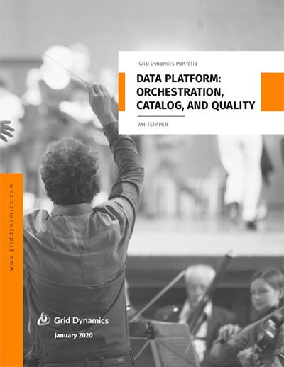 Data Platform: Orchestration, Catalog, and Quality