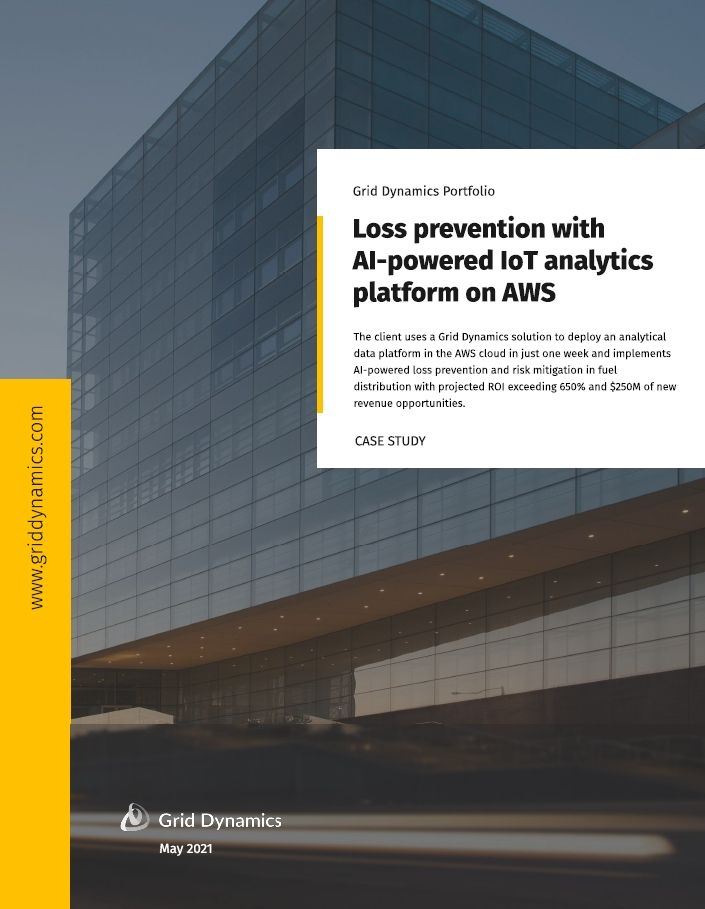 Loss Prevention with AI-powered IoT analytics platform on AWS