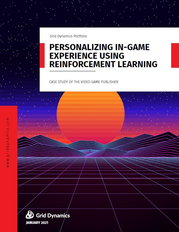 Personalizing in-game experience using reinforcement learning