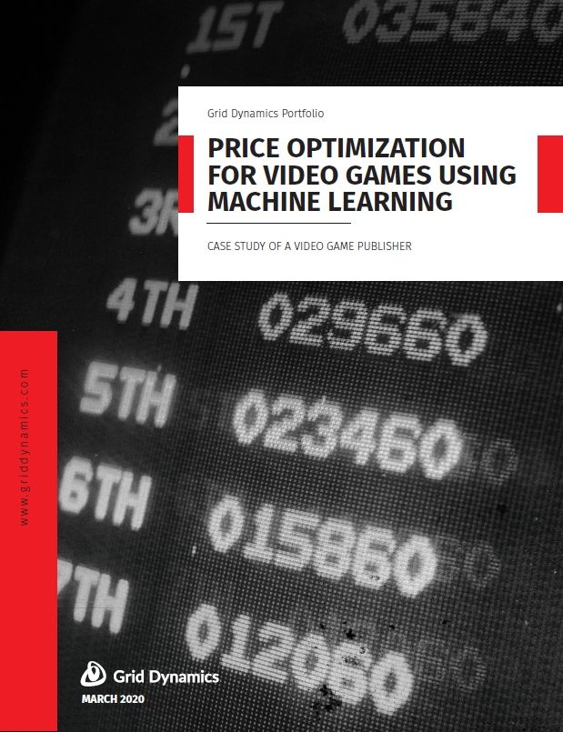 Price optimization for video games using machine learning